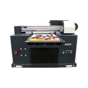 çmimi i fabrikës me shpejtësi të lartë a2 madhësia uv printer me bojë të sheshtë