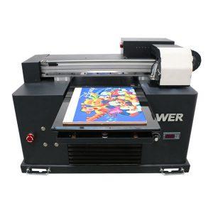 A2 A3 madhësi desktop i vogël i udhëhequr nga printera UV me platformë për shtypjen e dekoratave